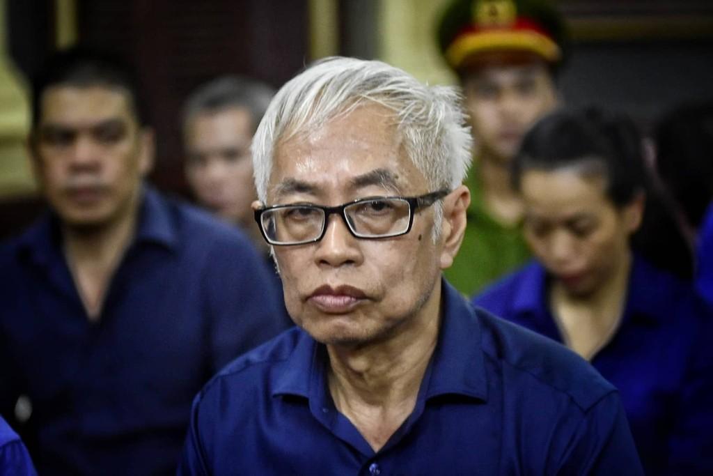 Trần Phương Bình, cựu Tổng Giám đốc Ngân hàng DAB cùng 9 bị cáo bị cáo buộc gây thiệt hại hơn 3.600 tỉ đồng.