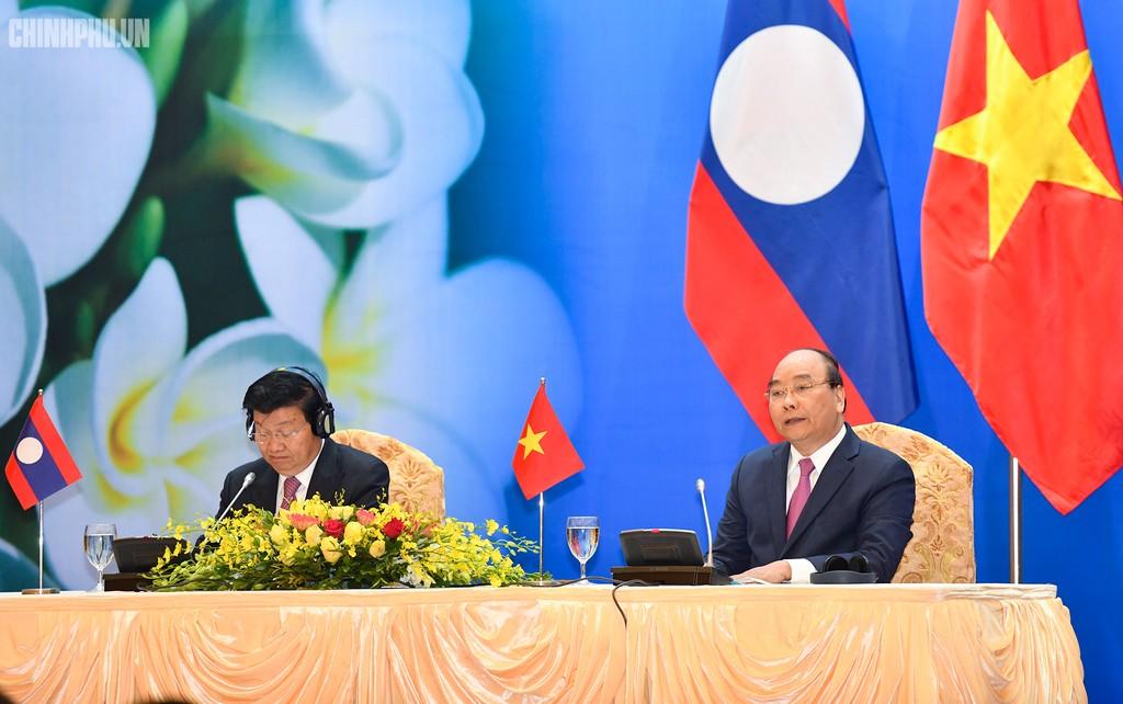 Hai Thủ tướng đồng chủ trì Kỳ họp 41 Ủy ban Liên Chính phủ Việt Nam - Lào - ảnh 11