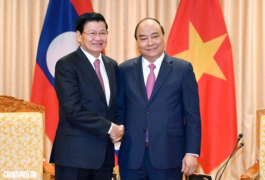 Việt - Lào phấn đấu tăng ít nhất 10% kim ngạch thương mại năm 2019 - ảnh 1