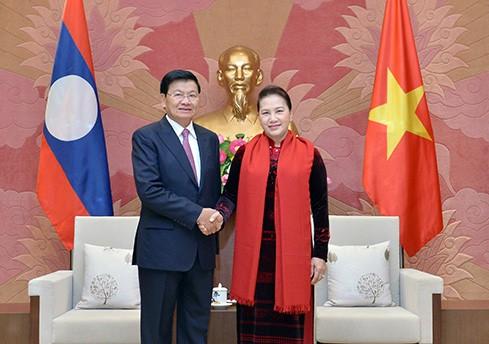 Quan hệ giữa 2 Quốc hội Việt - Lào ngày càng đi vào chiều sâu