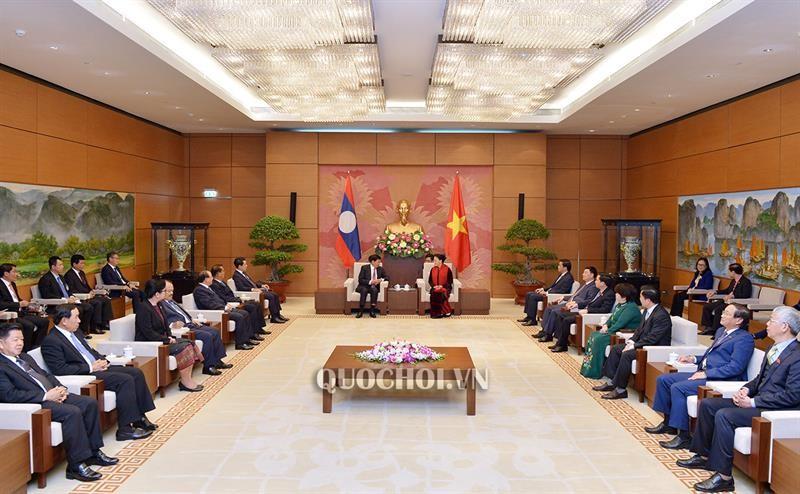 Quan hệ giữa 2 Quốc hội Việt - Lào ngày càng đi vào chiều sâu - ảnh 1