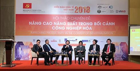 Diễn đàn Kinh tế Việt Nam 2018