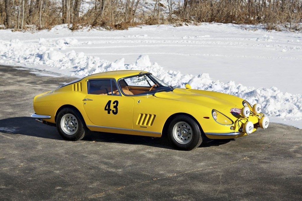 Chiếc Ferrari 275 GTB đầu tiên sắp được đấu giá.
