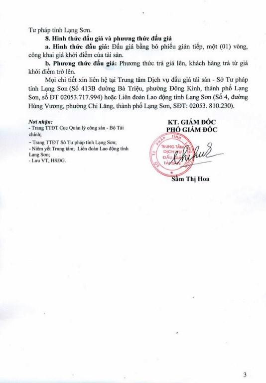 Ngày 18/01/2019, đấu giá xe ô tô tại tỉnh Lạng Sơn - ảnh 3