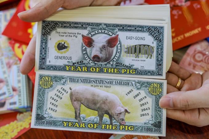 Săn lùng tiền lì xì in hình con heo - ảnh 4
