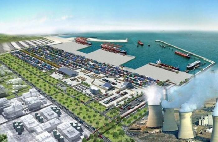 Phối cảnh cảng Mỹ Thủy hơn 14.000 tỷ đồng tại Quảng Trị