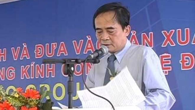 Ông Đoàn Ánh Sáng, nguyên Phó tổng giám đốc BIDV.