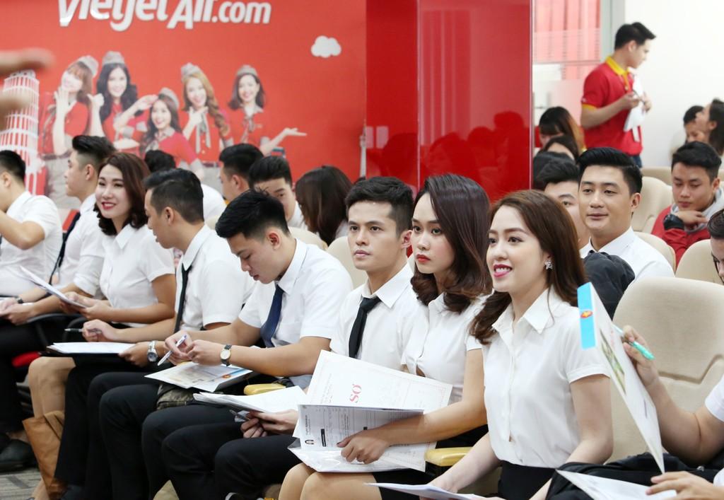 Vietjet tuyển dụng tiếp viên quy mô lớn tại Hà Nội và TP.HCM