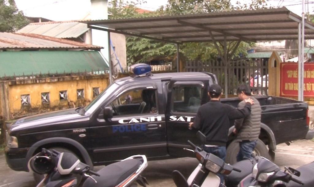Công an thành phố Huế bắt giữ đối tượng