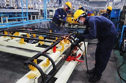 Một doanh nghiệp cơ khí ở Quảng Nam.