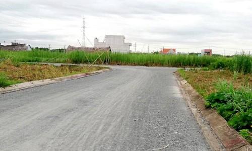 Một dự án đất nền Long An giáp ranh với Sài Gòn. Ảnh: L.H