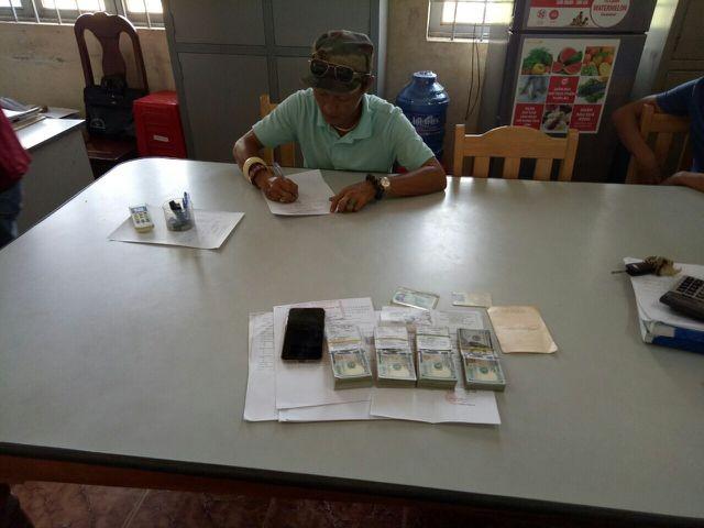 Phong Thuận Lương cùng số tiền vận chuyển