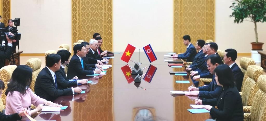 Phó Thủ tướng Phạm Bình Minh thăm chính thức CHDCND Triều Tiên - ảnh 2