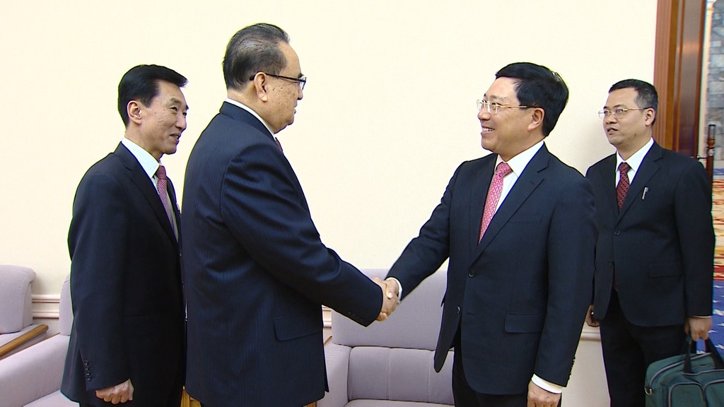 Phó Thủ tướng Phạm Bình Minh thăm chính thức CHDCND Triều Tiên - ảnh 3