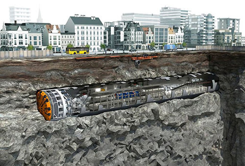 Tuyến metro Nhổn-ga Hà Nội dùng robot đào hầm từ tháng 4 - ảnh 1