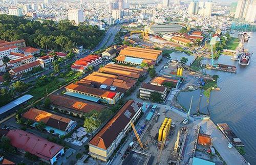 Ba Son là xưởng đóng tàu lâu đời và được đánh giá là di sản quý giá của Sài Gòn. Ảnh: Pháp luật TP HCM