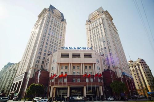 Trụ sở Tổng công ty sông Đà tại Hà Nội. Ảnh: Sông Đà
