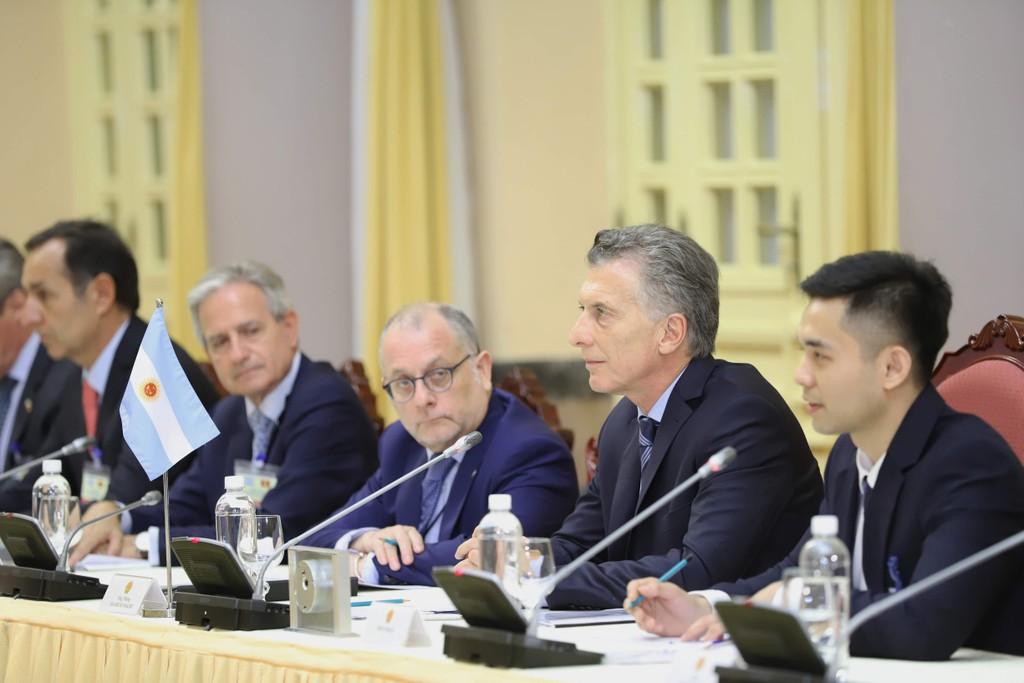 Tổng Bí thư, Chủ tịch nước Nguyễn Phú Trọng hội đàm với Tổng thống Argentina - ảnh 2