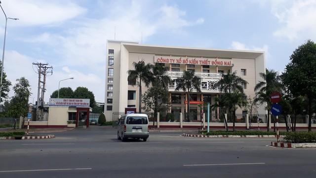 Trụ sở Công ty XSKT Đồng Nai và các sai phạm của cán bộ cấp tỉnh vẫn đang làm dư luận quan tâm