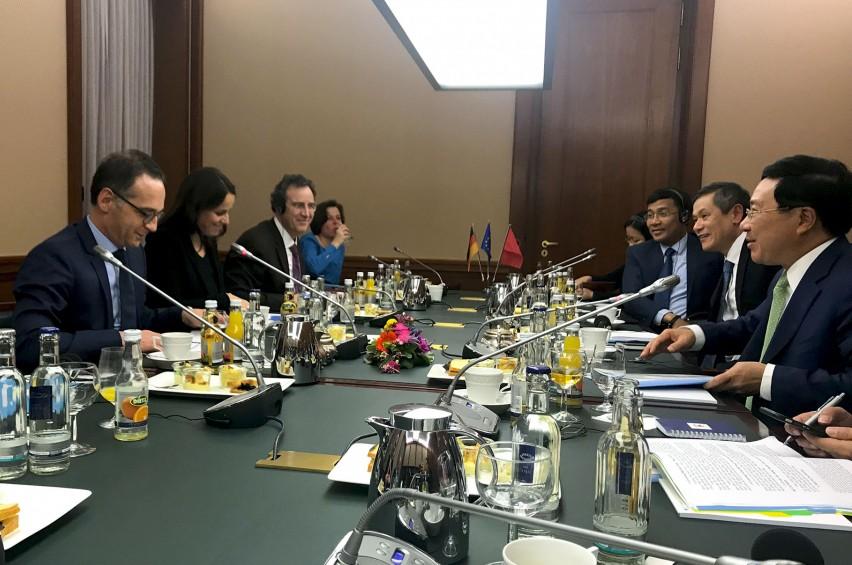 Phó Thủ tướng, Bộ trưởng Ngoại giao Phạm Bình Minh thăm CHLB Đức - ảnh 2