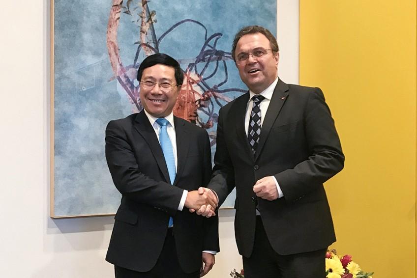 Phó Thủ tướng, Bộ trưởng Ngoại giao Phạm Bình Minh thăm CHLB Đức - ảnh 3