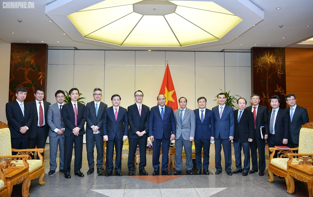 Thủ tướng tiếp Tổng Giám đốc Ngân hàng MUFG (Nhật Bản) - ảnh 1