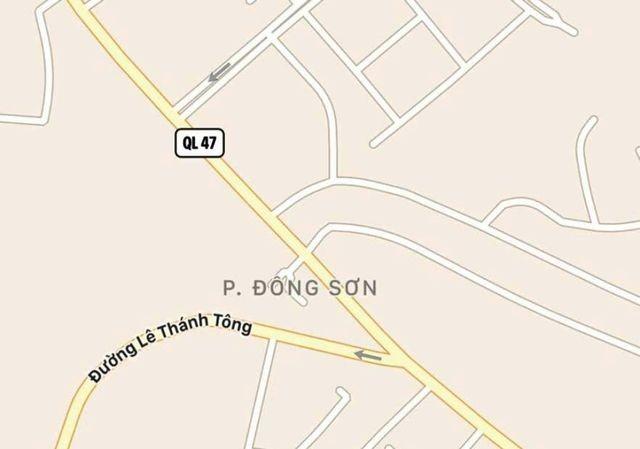 Dự án tuyến đường Đại lộ Đông Tây do Công ty Cổ phần Sông Mã đề xuất.