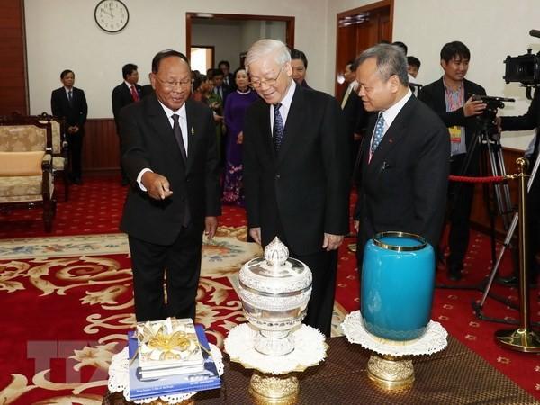 Vun đắp và làm sâu sắc hơn quan hệ Việt Nam-Campuchia - ảnh 1