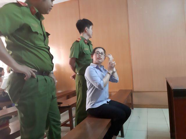 Bị cáo Thuận tại tòa.