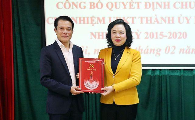 Hà Nội có tân Chủ nhiệm Ủy ban Kiểm tra Thành ủy sau 1 năm