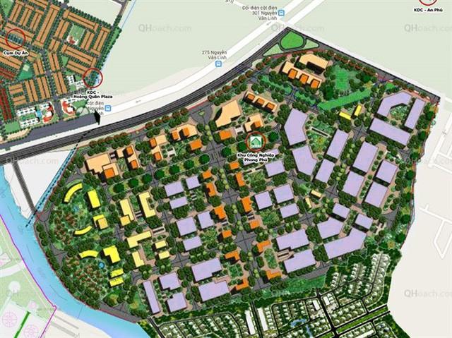 Đồ án quy hoạch Khu công nghiệp Phong Phú