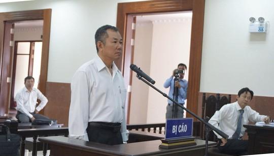 Bị cáo Nguyễn Long Vân tại phiên phúc thẩm ngày 28-2