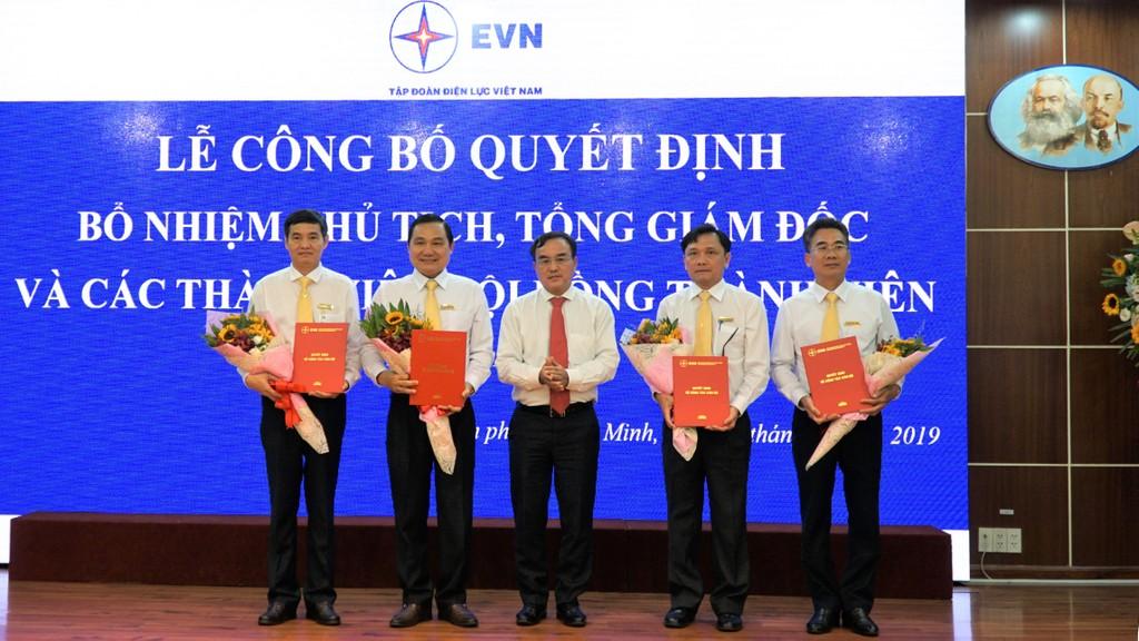 Bổ nhiệm nhân sự lãnh đạo Tổng công ty Điện lực miền Nam - ảnh 1