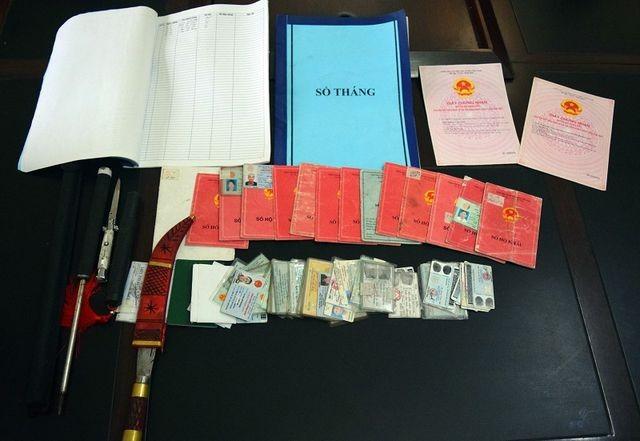 Quảng Ninh: Cho vay nặng lãi thu lợi trái phép hàng tỉ đồng, 2 đối tượng bị bắt - ảnh 1