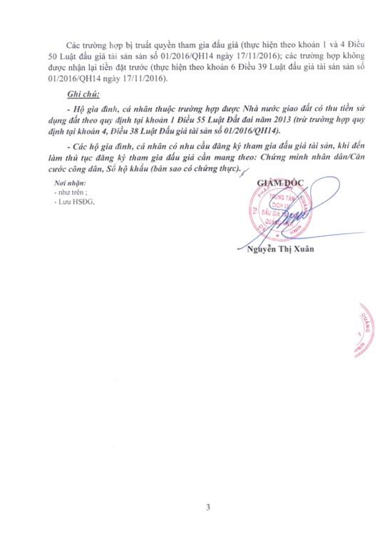 Ngày 22/3/2019, đấu giá quyền sử dụng 11 ô đất tại huyện Ba Chẽ, tỉnh Quảng Ninh - ảnh 3