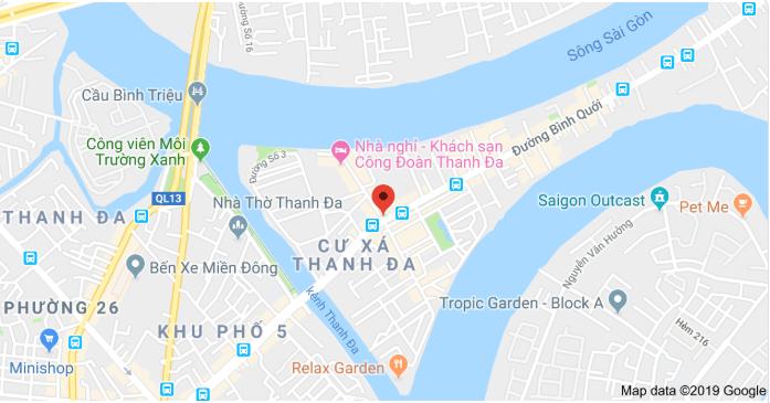 Khu đô thị Bình Quới - Thanh Đa có tổng diện tích khoảng 426 ha