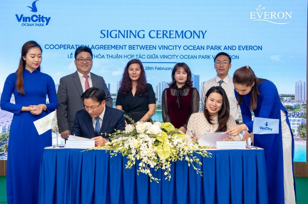 Làn sóng nhà đầu tư Hàn Quốc đổ bộ về VinCity Ocean Park - ảnh 1