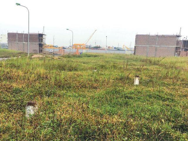 Hiện trạng của Dự án Khu nhà ở cao cấp Viet-Inc vẫn là khu đất trống