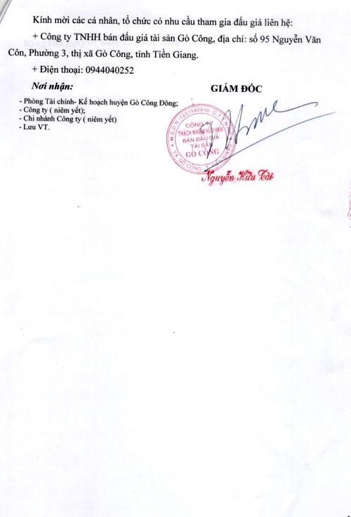 Ngày 16/3/2019, đấu giá 7 phòng học của Trường Tiểu học Kiểng Phước 2 (tỉnh Tiền Giang) - ảnh 4