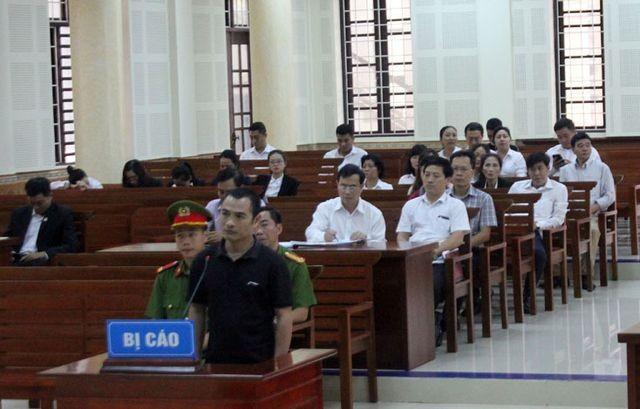 Bị cáo Hiền tại phiên tòa.