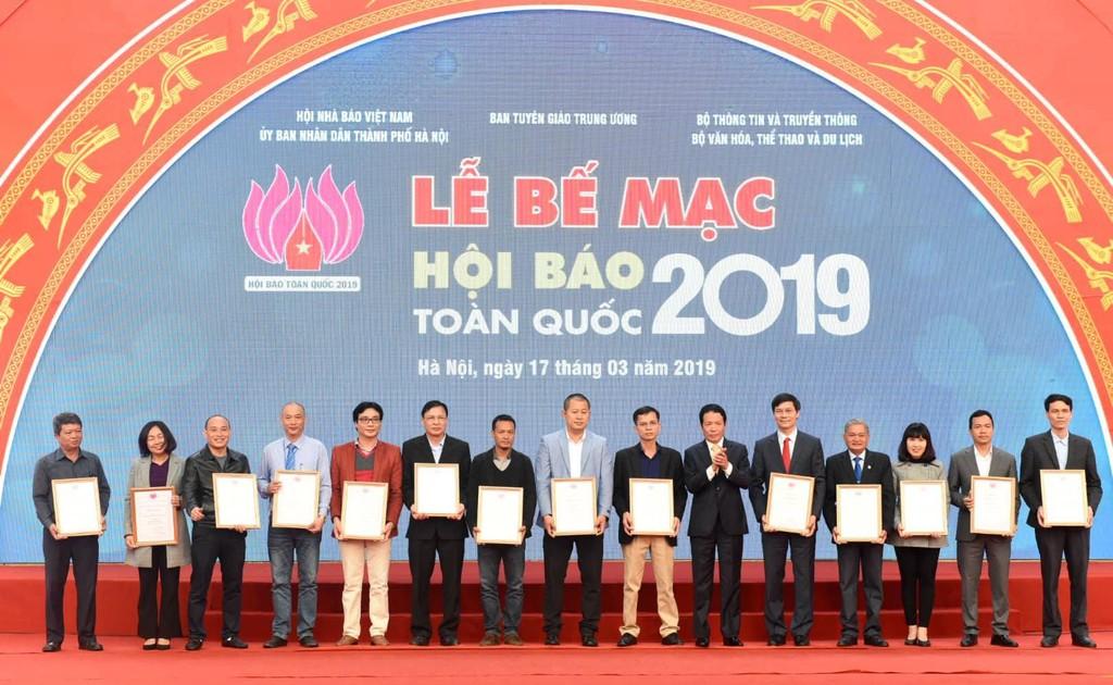 Báo Đấu thầu giành hai giải thưởng tại Hội báo toàn quốc 2019 - ảnh 1