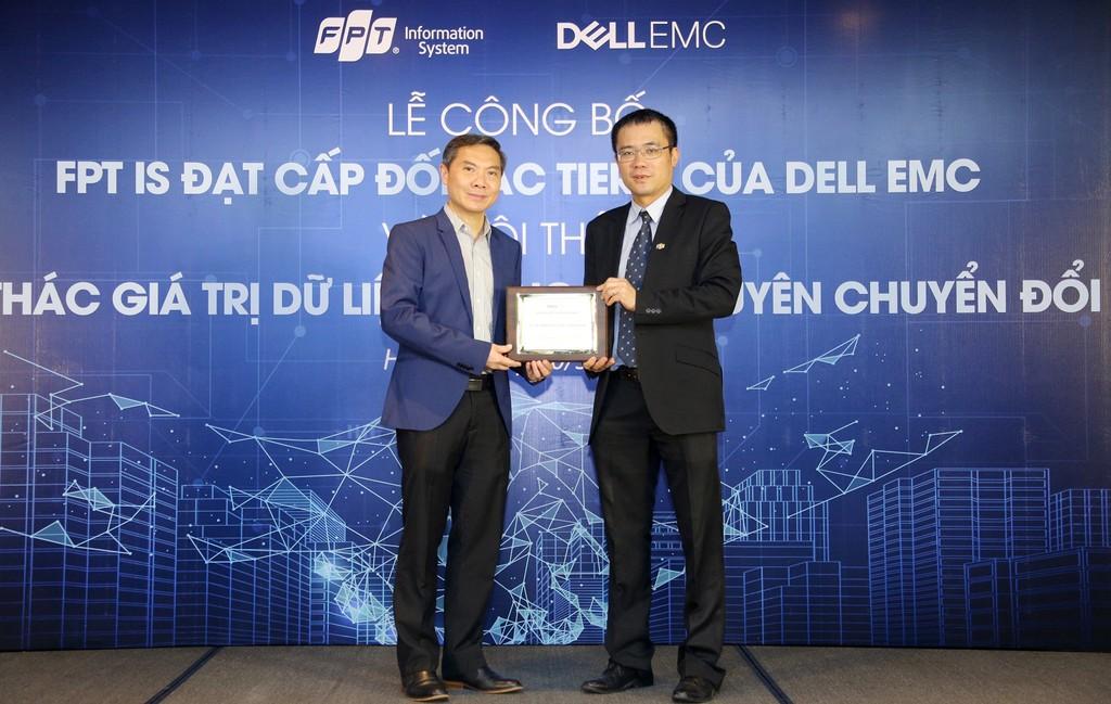 FPT IS trở thành đối tác cao cấp nhất của Dell EMC - ảnh 1