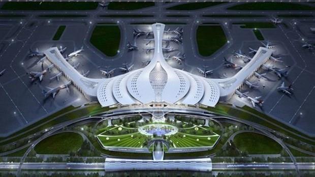 Phương án thiết kế kiến trúc sân bay Long Thành. (Ảnh: ACV)
