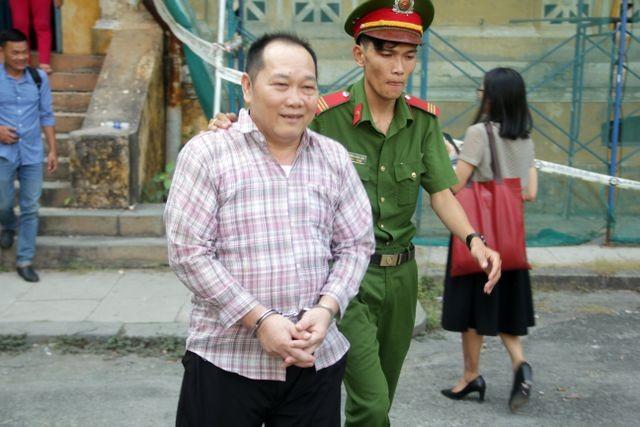 Bị cáo Huỳnh Ngọc Long.