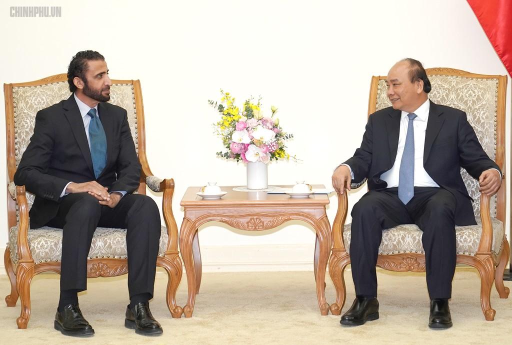 Thủ tướng tiếp Tổng Giám đốc Tập đoàn Đầu tư Dubai (UAE) - ảnh 1