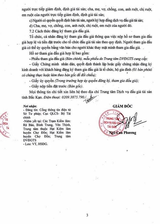Ngày 1/4/2019, đấu giá gỗ tròn tại tỉnh Bắc Kạn - ảnh 3