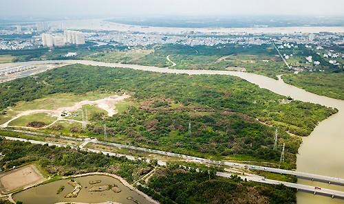 Khu đất Quốc Cường Gia Lai mua của Công ty Tân Thuận có vị trí đẹp.