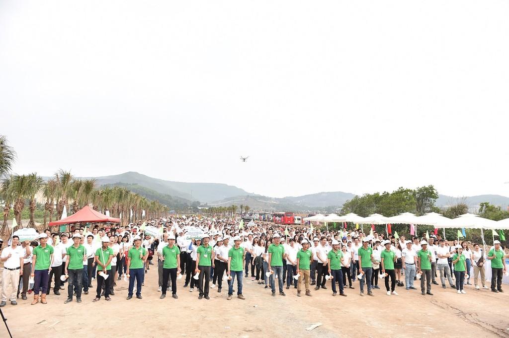 10.000 cây xanh được trồng trong Lễ phát động chiến dịch Go Green 2019  - ảnh 1