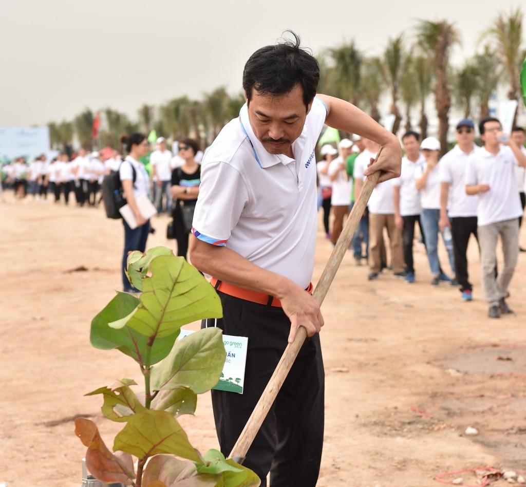 10.000 cây xanh được trồng trong Lễ phát động chiến dịch Go Green 2019  - ảnh 4