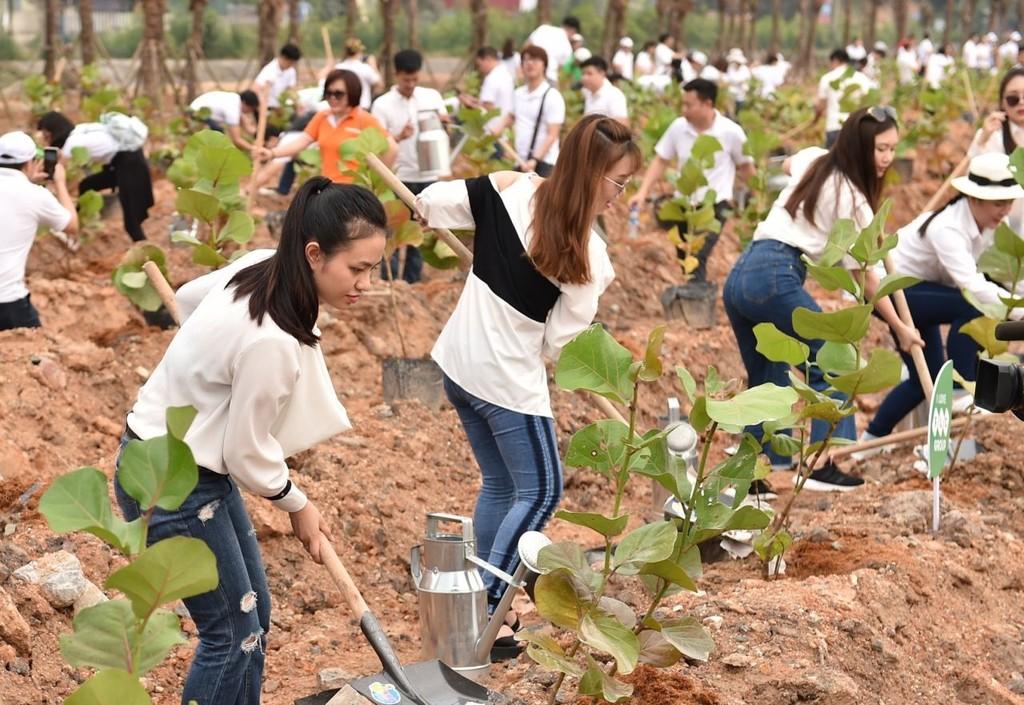 10.000 cây xanh được trồng trong Lễ phát động chiến dịch Go Green 2019  - ảnh 5